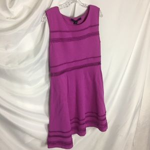 French Connection Peek-A-Boo Dress PASSION